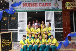 Những hình ảnh tại cơ sở mới nhất của Nurse Care tại số 20 Huỳnh Khương An, P.3, Vũng Tàu.